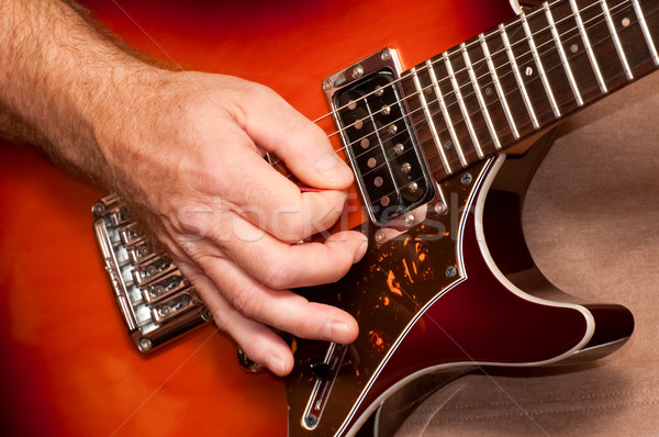 strumming Stock photo © nelsonart