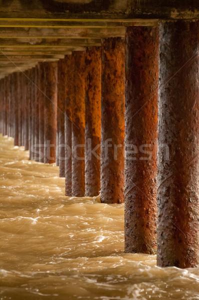 under the boardwalk Stock photo © nelsonart