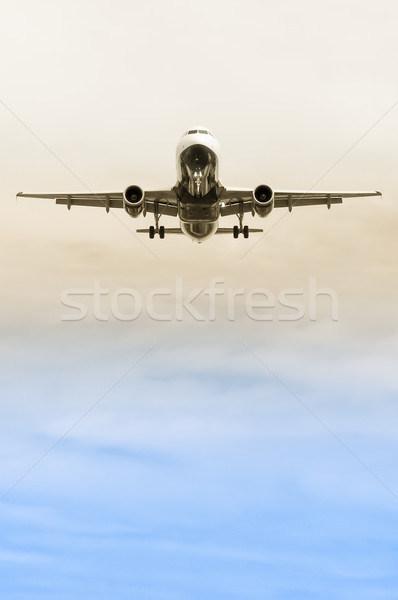 landing approach abstract Stock photo © nelsonart
