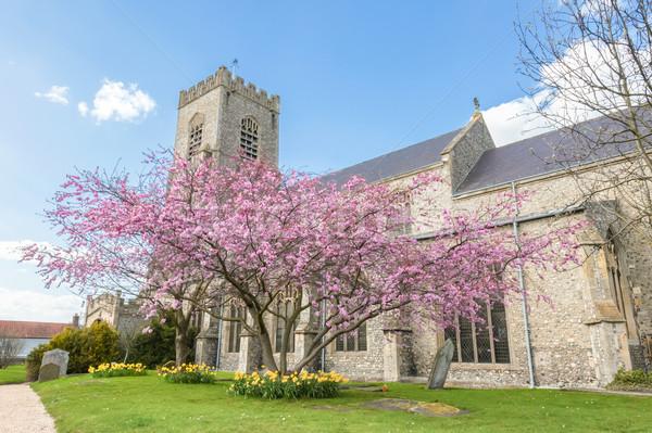 English Parish Church Stock photo © nelsonart
