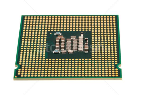 Elektronische collectie computer cpu bewerker chip Stockfoto © nemalo