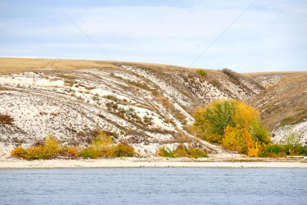 Coastline of the river Don. Russia. Stock photo © nemalo