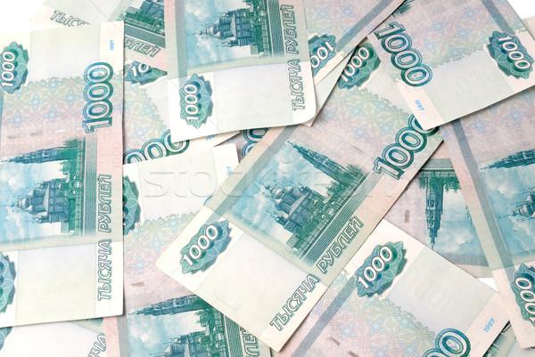 Foto stock: Dinero · Rusia · billetes · uno · mil · textura