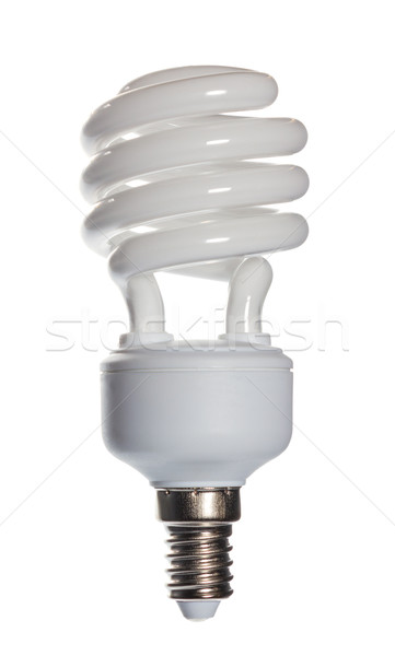 Energy saving compact fluorescent lightbulb Stock photo © nemalo