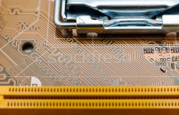 Electronic collection - computer circuit board Stock photo © nemalo