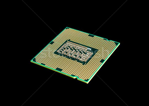 Elektronikus gyűjtemény számítógép processzor processzor chip Stock fotó © nemalo