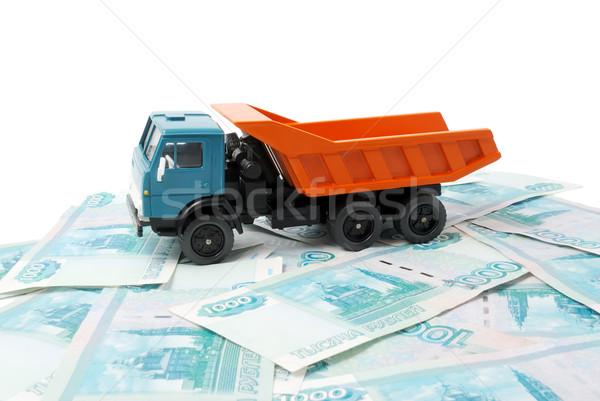 Car and money Stock photo © nemalo