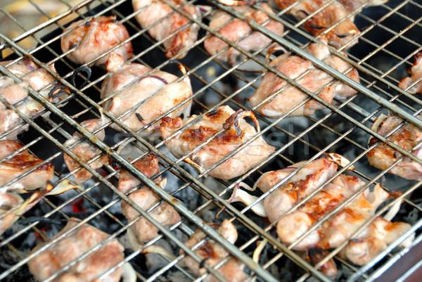 Barbecue Stock photo © nemalo