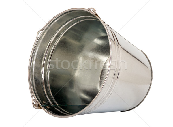 Madeni kova çinko yalıtılmış beyaz Retro Stok fotoğraf © nemalo