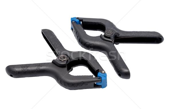 Plastic clamp Stock photo © nemalo