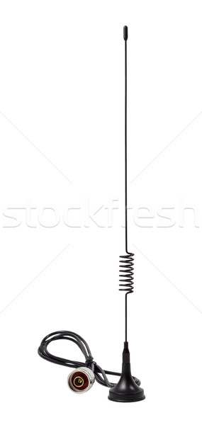 Stock photo: Removable antenna gsm standard