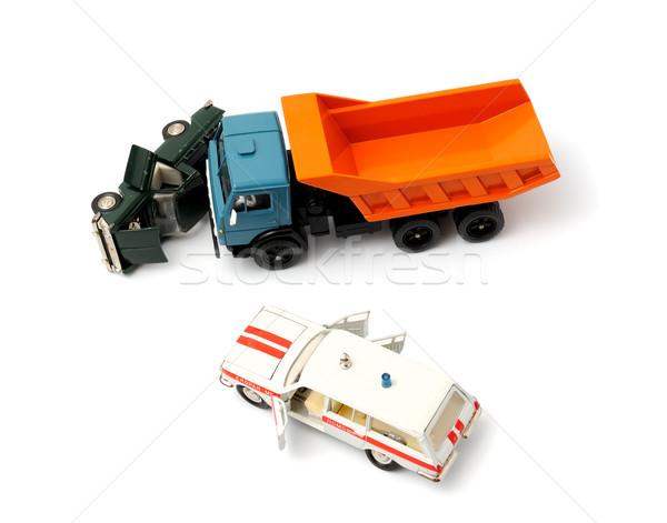 Car crash Stock photo © nemalo