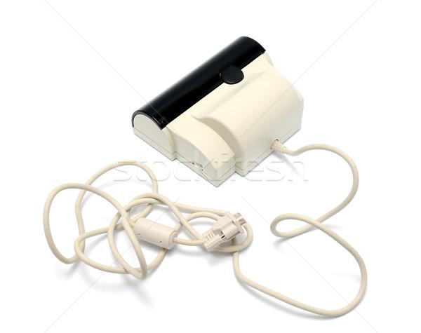 Szkenner hordozható fehér üzlet iroda doboz Stock fotó © nemalo