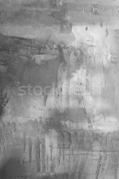 Backgrounds collection - Grey plaster wall Stock photo © nemalo