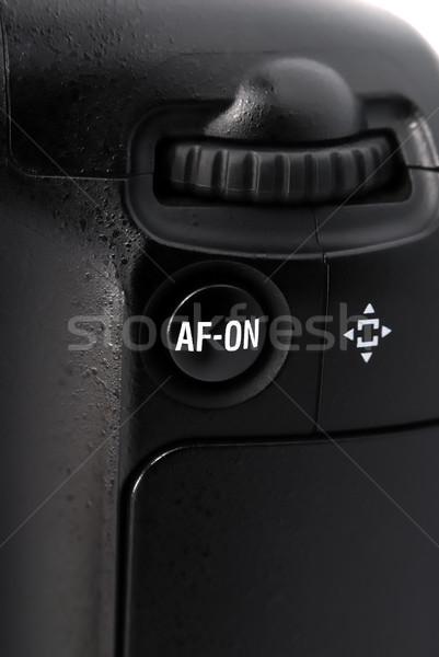 Gomb botkormány kamera elem markolás dslr Stock fotó © nemalo