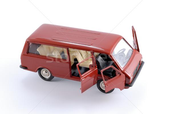 Collection scale model of the car Minibus Stock photo © nemalo