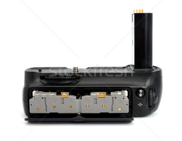 Caméra batterie dslr caméras isolé Photo stock © nemalo