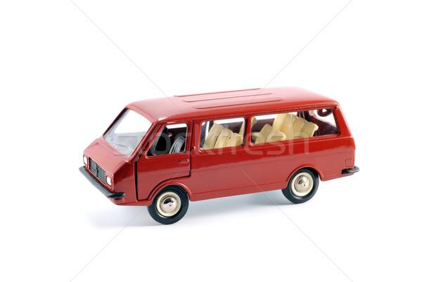 Minibus car Stock photo © nemalo