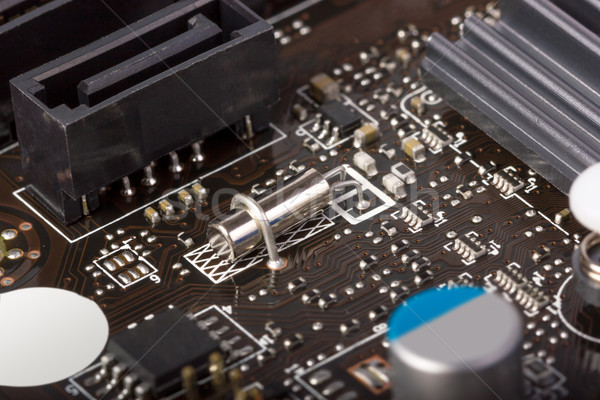 Elektronikus gyűjtemény digitális alkotóelemek számítógép elektronika Stock fotó © nemalo