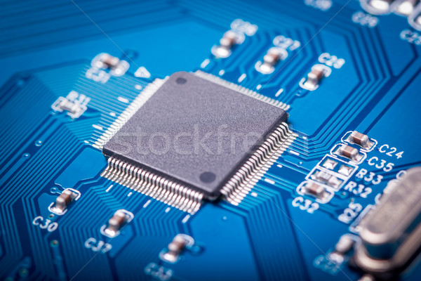 Electronic collection - computer circuit board Stock photo © nemalo