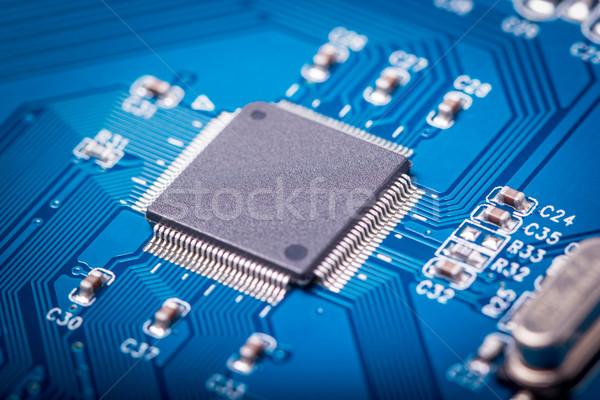 Electrónico colección ordenador circuito radio componentes Foto stock © nemalo