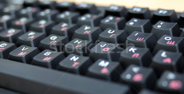 Computer keyboard Stock photo © nemalo