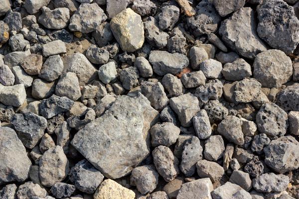 Achtergronden collectie ruw steen textuur stenen Stockfoto © nemalo