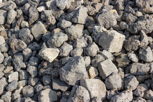 Fundos coleção áspero pedra textura pedras Foto stock © nemalo
