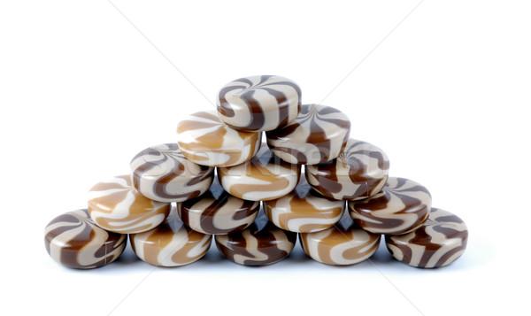 Chocolate-creamy of a sweet sugar candies Stock photo © nemalo
