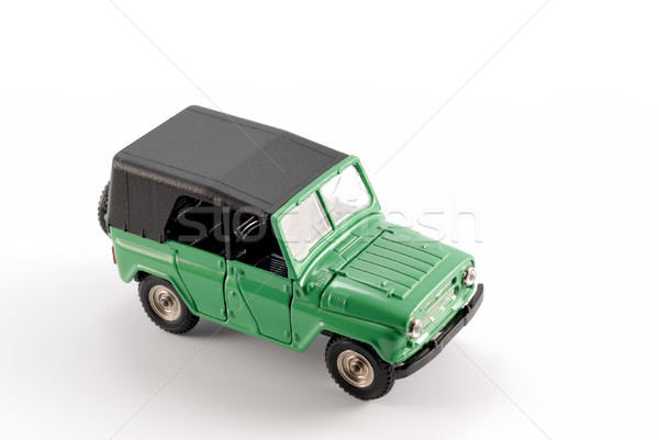 Collection scale model the Off-road car Stock photo © nemalo