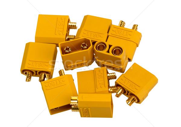 электронных коллекция низкий напряжение мощный промышленных Сток-фото © nemalo