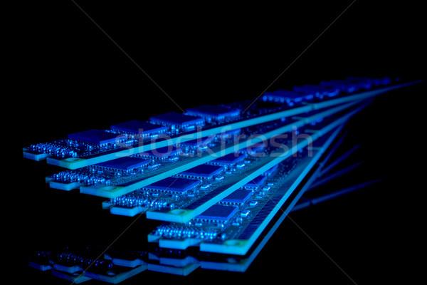 Eletrônico coleção computador acaso acessar memória Foto stock © nemalo