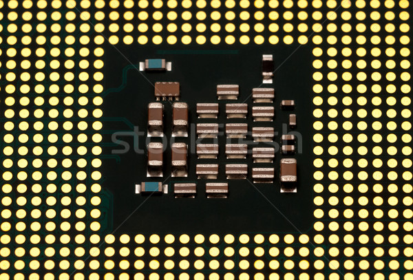 Electronic collection - Computer CPU (Central Processing Unit) c Stock photo © nemalo