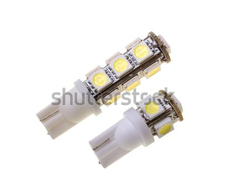 Two lamp for auto with 13 LEDs Stock photo © nemalo