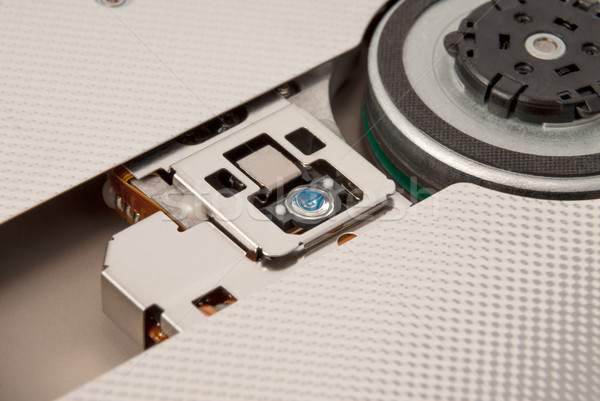 Electronic collection - Laser head of CD DVD drive Stock photo © nemalo