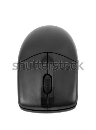 Electronic collection - Wireless optical black computer mouse Stock photo © nemalo