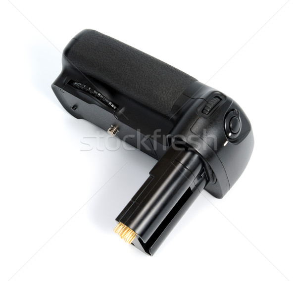 Camera battery grip Stock photo © nemalo