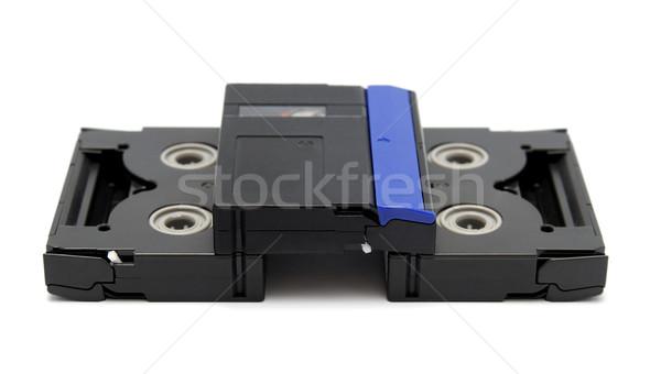 Standard odizolowany biały film tle przemysłu Zdjęcia stock © nemalo