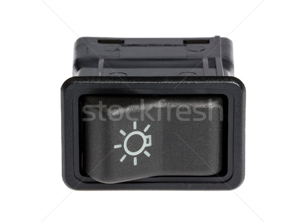 Car light control switch Stock photo © nemalo