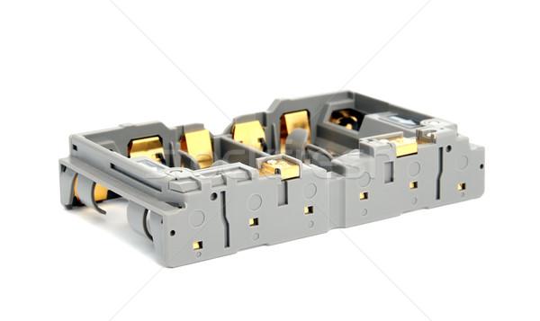 Adapter AA batteries Stock photo © nemalo