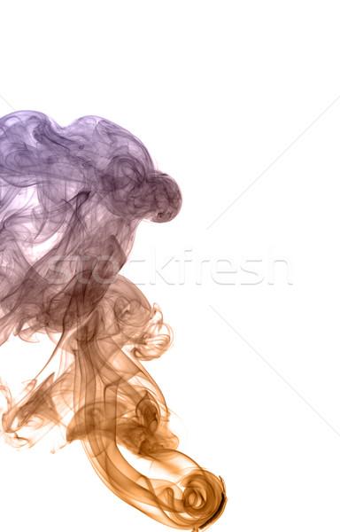 Abstract gekleurd rook licht brand achtergrond Stockfoto © nemalo