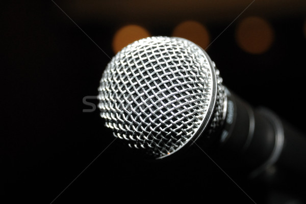 Microphone Stock photo © nemalo