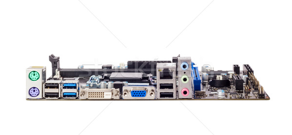 Electronic collection - Connector of computer motherboard Stock photo © nemalo