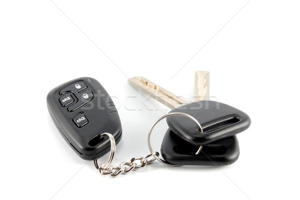 Klucze urok kluczyki samochodu alarm Zdjęcia stock © nemalo