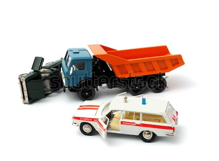 Car crash Stock photo © nemalo