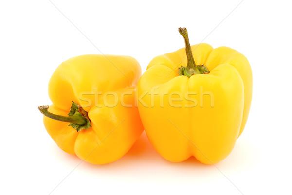 Stok fotoğraf: Taze · sebze · sarı · tatlı · beyaz