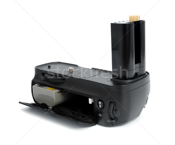 Kamera elem markolás dslr fényképezőgépek izolált Stock fotó © nemalo