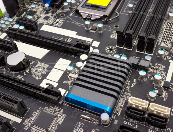 Eletrônico coleção digital componentes computador eletrônica Foto stock © nemalo