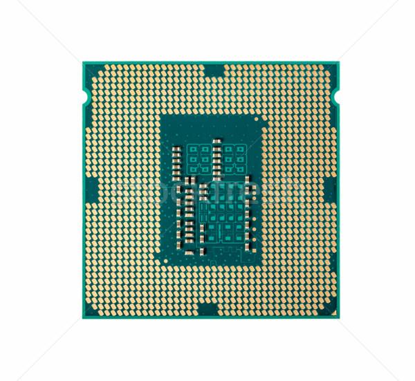 Elektronische collectie computer bewerker chip cpu Stockfoto © nemalo