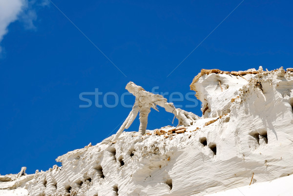 Stock photo: Sculptures from sand